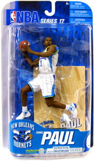 McFarlane NBA series Figure 17 and Chris Paul and New Orleans Hornets