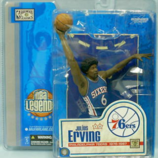 McFarlane NBA figure legend series 1/Julius Erving ( Dr.J)/ Philadelphia 76ers