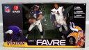 【まもなく入荷 1510】マクファーレントイズ NFLフィギュア 2パックシリーズ/ブレット・ファーブ/ミネソタ・ヴァイキングス