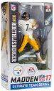 【まもなく再入荷 1712】EA Sports Madden NFL 17 シリーズ2/ベン・ロスリスバーガー/ピッツバーグ・スティーラーズ