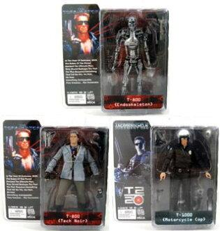 NECA terminator collection series 1 / ( 7 inch figure ) 3 pieces