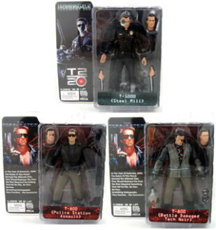Three NECA terminator collection series 2/ (7 inches of figure skating) sets