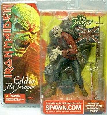 McFarlane MUSIC series IRON MAIDEN (iron maiden) /EDDIE FROM THE TROOPER