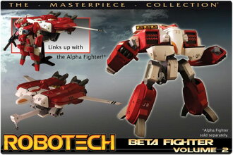 トイナミ Robotech Macross master piece collection/New Generation Beta Fighter/Vol.2-Red/ANNIE