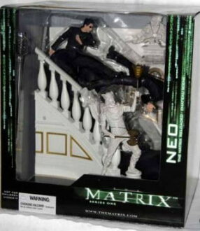 McFarlane MOVIE matrix reloaded / neo / Chateau-scene DX BOX