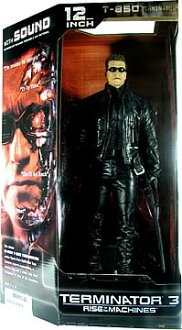 McFarlane Toys MOVIE series 12 inch Terminator 3 t-850 and sunglasses and T3
