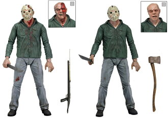 Two Friday series 3/ Jason sets of 7 inches of NECA figure skating series 13th