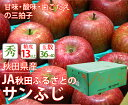 【36〜40個入り】秋田県産 サンふじ 糖度13度以上【秋田...
