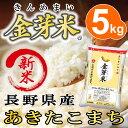 【新米】金芽米【無洗米】長野あきたこまち5kg【送料込】うまみと栄養を両立したお米【とがずに炊ける無