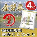 ショッピング金芽米 【新米】特別栽培米4kg【2kg×2袋・送料込】【30年産】※無洗米・LPS(リポポリサッカライド)が豊富で免疫力アップ(きんめまい・お米)