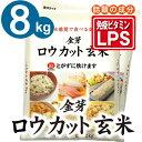 白米感覚で食べる玄米金芽ロウカット玄米8kg【2kg×4袋・送料込】※無洗米・LPS(リポポ