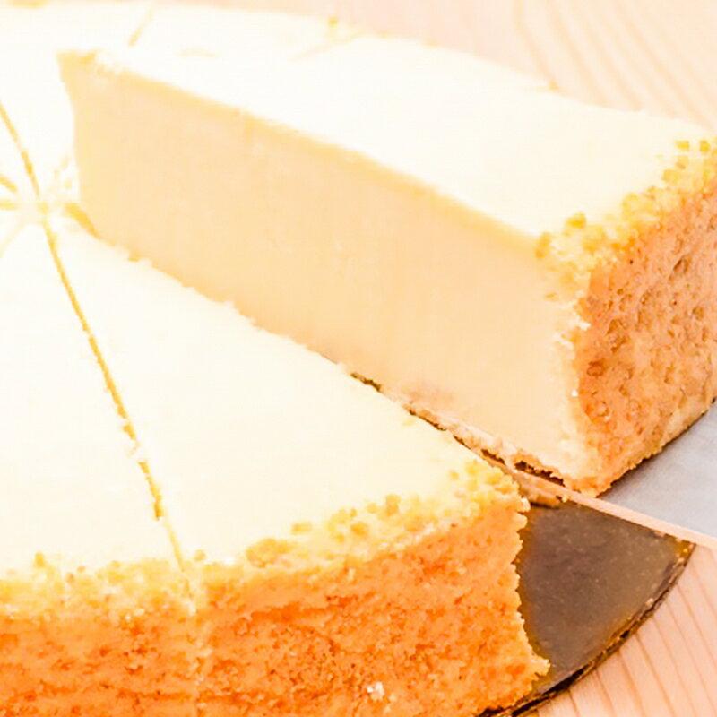 送料無料ニューヨークチーズケーキプレーンホール910g14カット直径約20cmNYチーズケーキ冷凍ス
