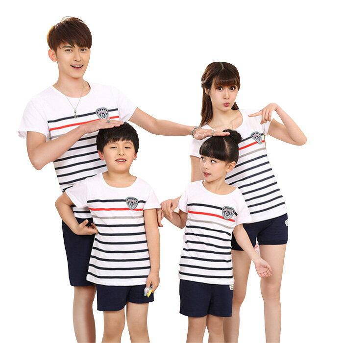 家族おそろい服 2点セット ペアtシャツ パンツ ボーダー 親子ペア 半袖tシャツ  縞 半パンツ メンズ 親子お揃い メンズtシャツ メンズトップス キッズ服 男の子 ママ パパ 夏服 兄弟お揃い tシャツ+パンツのセット