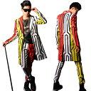 送料無料 ダンス衣装 JAZZ DS スーツベストストリート系 B系 韓流 ファッション 上下2点セット 男性用 演出 舞台服 ダンスウェアスター ダンスウェア メンズ ダンスウエア トップス HIPHOP♪カジュアルスタイル ダンス 衣装 ヒップホップ ステージ衣装