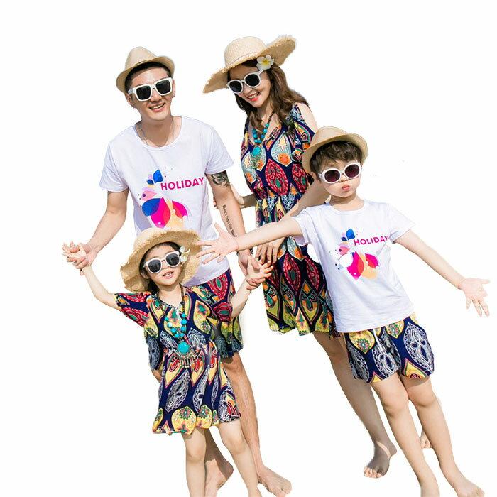 韓国水着 親子ペア 女の子 水着 キッズ パーカー付き ワンピース 花柄 家族 ファミリーでお揃いも ママ レディース パパ メンズビキニ ワンピース 水着 親子セット ペア お揃い ペアルック 夏 海 リゾート スイムウェア