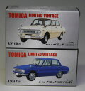 トミカリミテッドヴィンテージLV-16ab いすゞ ベレット 1300 2台組