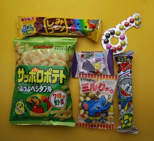 子供会向きの駄菓子詰め合わせセット(すべて国産品)150円セット C