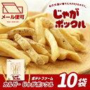 【ゆうメール可】【北海道銘菓】カルビー ポテトファーム じゃがポックル10袋入り PO