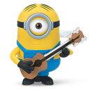 【クリアランス】ミニオン ワインドアップ(ぜんまい式)アクションフィギュア Guitar Stumming Stuart