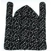 【クリアランス】珊瑚フリース☆プリントくるみケット(ブラック)