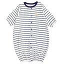 新生児2WAYドレスパイル(ネイビー・50-60cm)