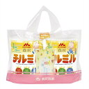 森永 フォローアップミルク チルミル 820g×2缶(おまけ付)【粉ミルク】