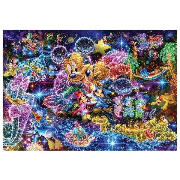 【オンライン限定価格】ディズニー ステンドアートジグソーパズル 1000ピース 「星空に願いを・・・」