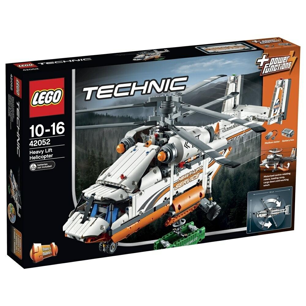 【オンライン限定価格】レゴ テクニック 42052 ヘビーリフト ヘリコプター【送料無料】