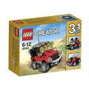 レゴ クリエイター 31040 砂漠のオフロードカーの画像