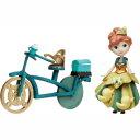 アナと雪の女王 リトルキングダム アナの自転車