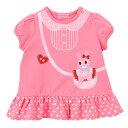 【ホットビスケッツ】ポシェットプリント♪キャビットちゃん半袖Tシャツ(ピンク・100cm)