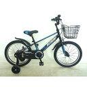 トイザらス AVIGO 18インチ 子供用自転車 トレイバー(ブラック/ブルー)