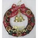 【クリスマス】トイザらス限定 40cm ラタンリース(レッド)
