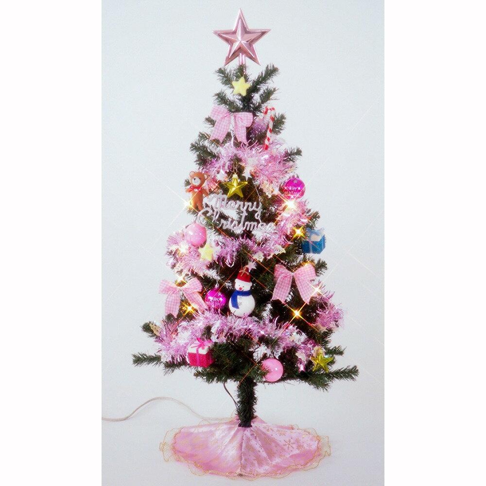 【クリスマスツリー】トイザらス限定 120cm 15球ライト付きセットツリー スウィーツ