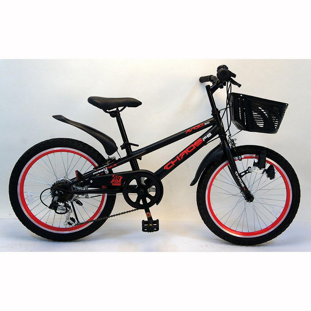トイザらス AVIGO 20インチ 子供用自転車 カオス(グレー/レッド)