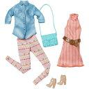 Barbie バービーファッションドレス (シャツ&ピンクワンピース)