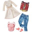 Barbie バービーファッションドレス (デニム&ホワイトワンピース)