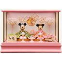 【雛人形】ミッキー&ミニープレミアムひな人形【送料無料】
