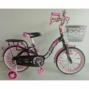 16インチ 子供用自転車 ハードキャンディ ラグジュアリー(ブラック)【送料無料】