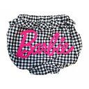 【ベビーザらスオリジナル】Barbie ギンガムチェックブルマ バービー(ブラック×70-90cm)