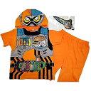 仮面ライダーエグゼイド 変身半袖パジャマ(オレンジ×120cm)