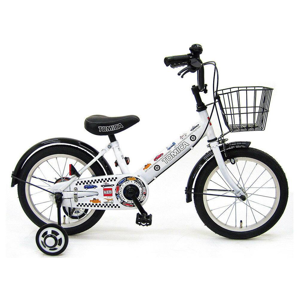自転車の 男の子 自転車 16インチ : 16インチ 子供用自転車 トミカ ...