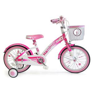 16インチ 子供用自転車 ハードキャンディージュエリー ピンク【女の子向け】