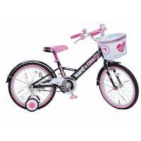 18インチ子供用自転車ハードキャンディージュエリーブラック【女の子向け】
