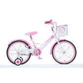18インチ 子供用自転車 ハードキャンディージュエリー ピンク【女の子向け】