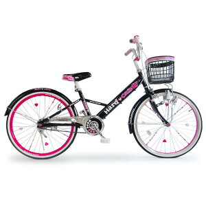 【クリアランス】20インチ 子供用自転車 ハードキャンディージュエリー ブラック【女の子向け】【送料無料】