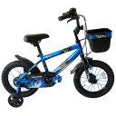 14インチ 子供用自転車 AVIGO スパーク (ブルー)【男の子向け】