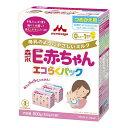 森永 ペプチドミルク E赤ちゃん エコらくパック つめかえ用 400g×2袋【粉ミルク】