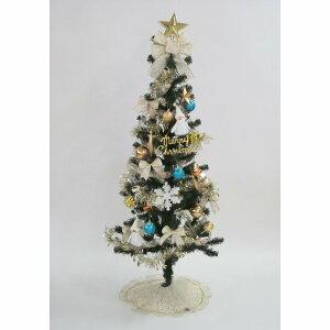 【クリスマスツリー】トイザらス チアー! 20球ライト付セットツリー 150cm プラチナゴールド【送料無料】