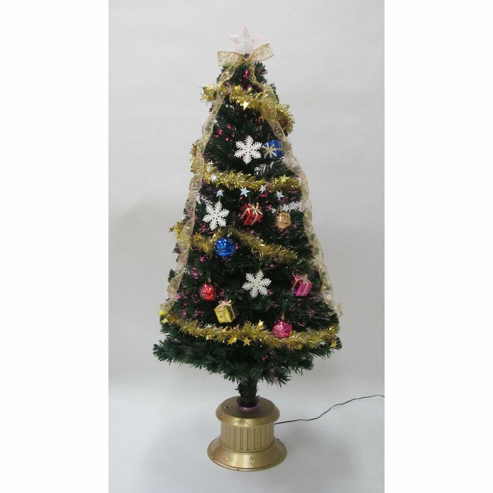 【クリスマスツリー】トイザらス チアー! 150cm ファイバーツリー カラフルLED【送料無料】